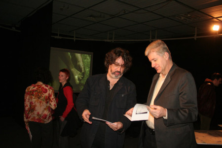 Nedzad Fejzic (BNP) and Zijad Softic (culture departement Zenica)