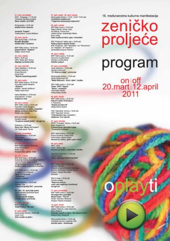Festival Programm Zenica